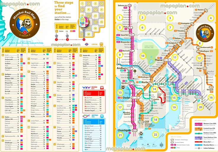 mumbai metro mono rail local suburban rail routes new updated route plan navi public transport stations subway rail routes underground tube lines complete full hd plan free download interactive bombay visitors guide central metro train stations tourist information guides Mumbai top tourist attractions map
