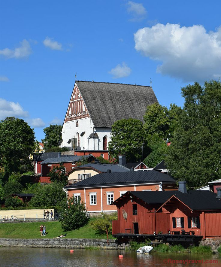 The Porvoo Cathedral is one among the oldest buildings in Porvoo. It has been burned multiple times during its long history but it has always been reconstructed.
