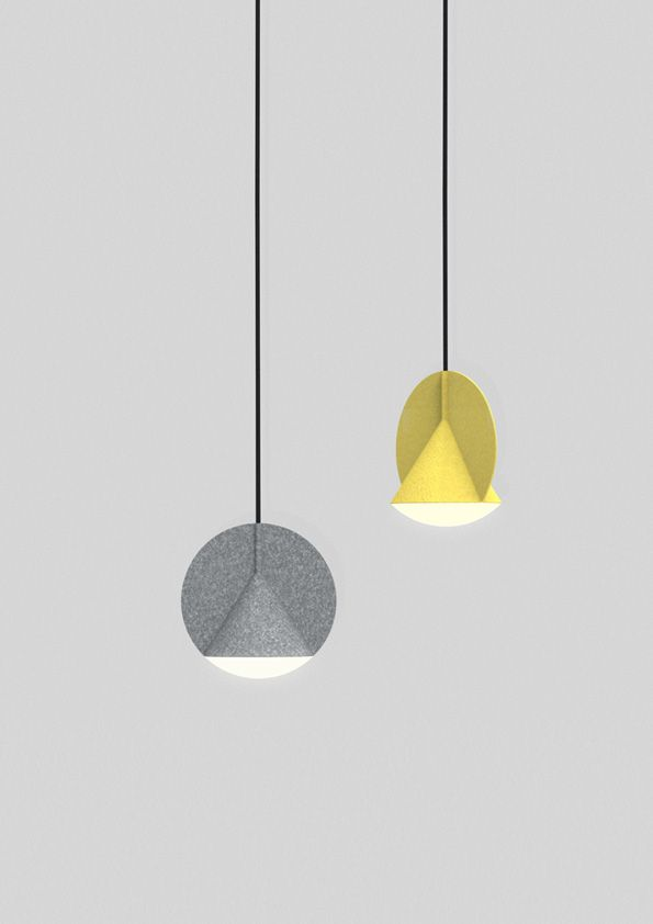 Design Studio Outofstock Designed Stamp Pendant Lamp That Playing With  Geometry For Danish Furniture Brand Bolia. U201cThe Stamp Lamp Body Is Made Out  Of Two ...