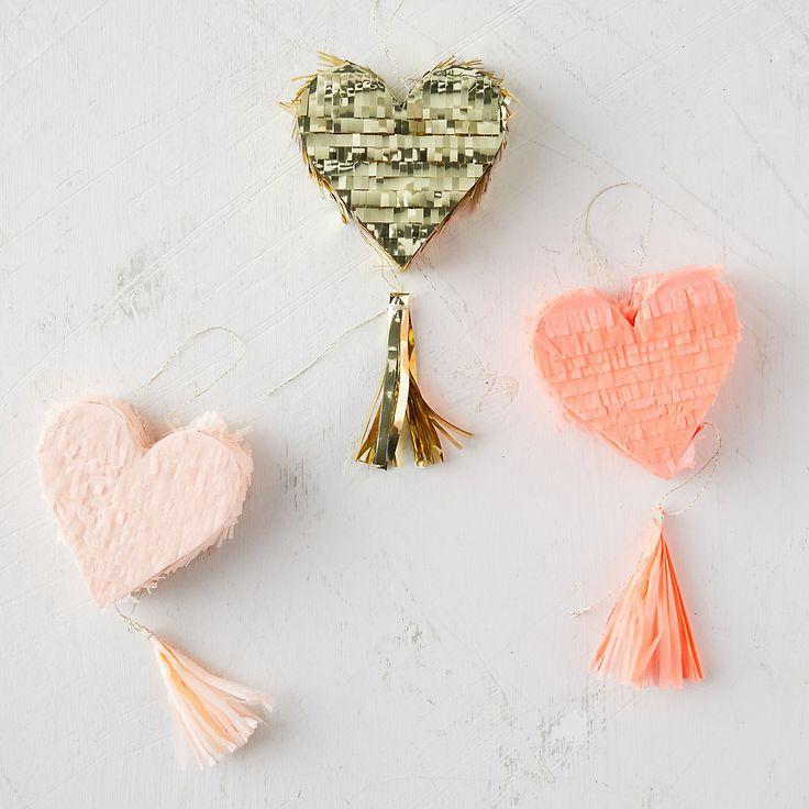 Mini Heart Pinata Set