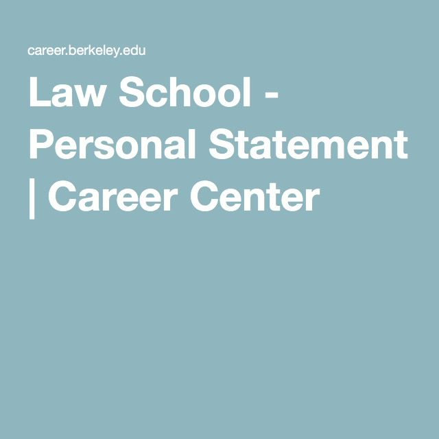 15 best Personal Statements images on Pinterest Personal - law school personal statement
