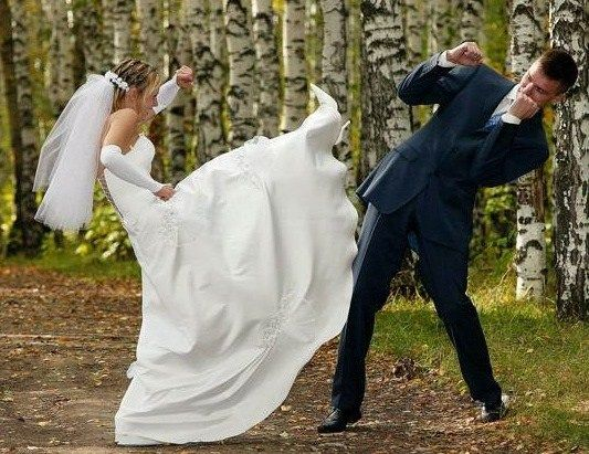 Shameful And Stupid Wedding Fights That Yield Zero Results