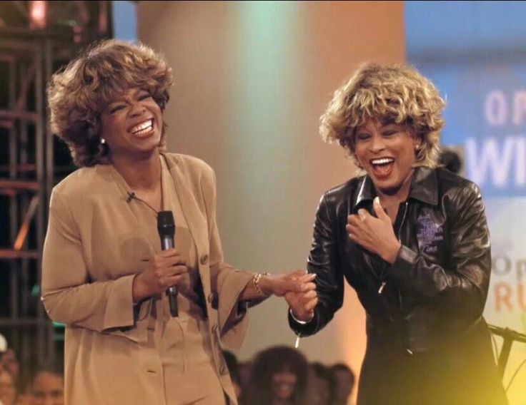 Image result for oprah tina turner audience