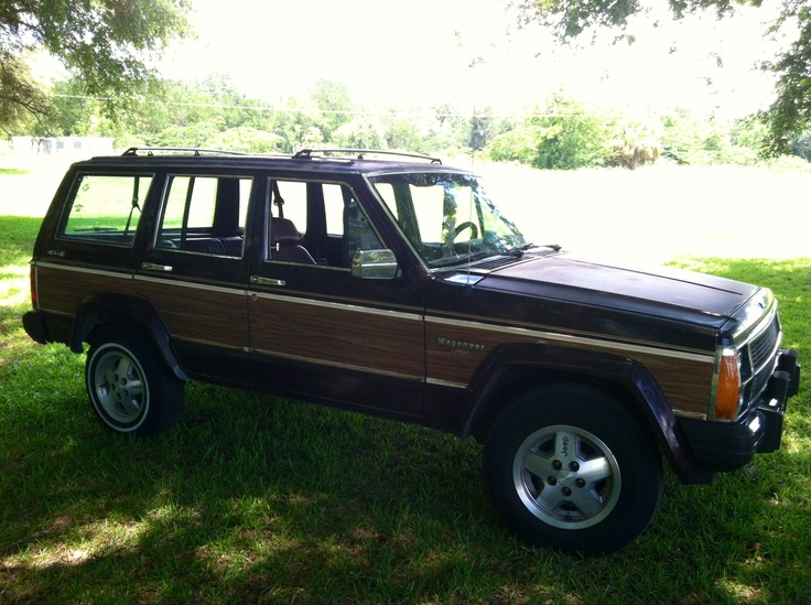 1990 Jeep Wagoneer Limited Like My Baby Can't Wait Until She's