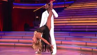 "Jaleel White chose to resurrect Stefan Urquelle for his Most Important Year theme week on ""Dancing With the Stars."""