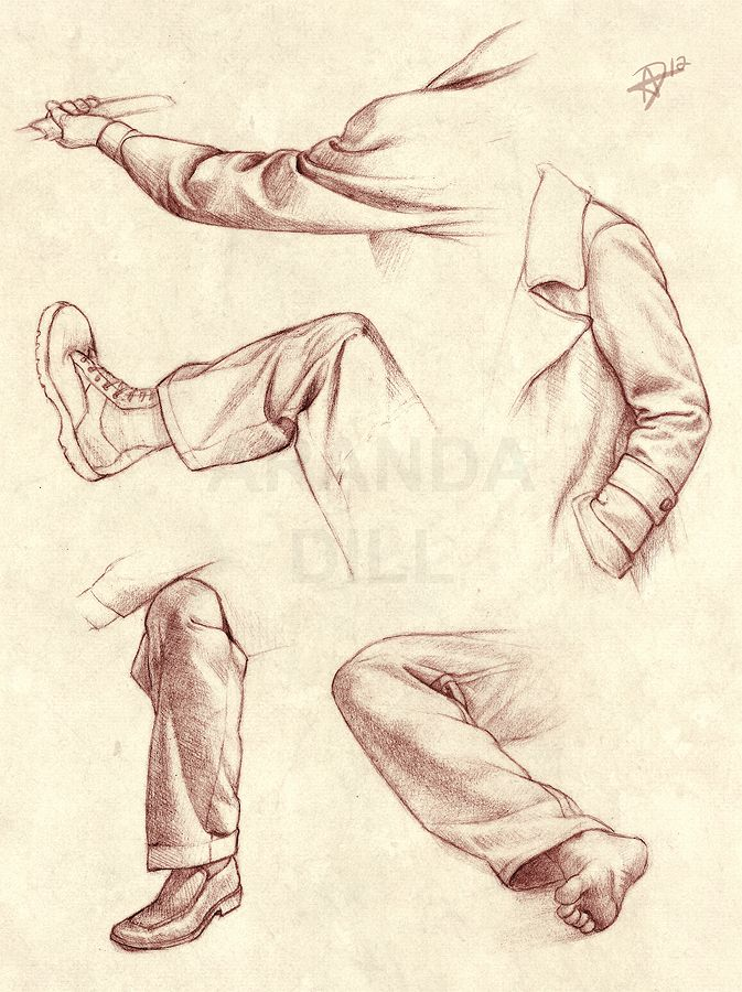 Half-Lock Folds by =ArandaDill ✤ || CHARACTER DESIGN REFERENCES | キャラクターデザイン • Find more at https://www.facebook.com/CharacterDesignReferences if you're looking for: #lineart #art #character #design #illustration #animation #drawing #archive #reference #traditional #sketch #pose #settei #gestures #how #to #tutorial #comics #conceptart #modelsheet #cartoon #wrinkles #folding #clothing #costumes #ruffles #dress #clothes #fabric #folds #draping || ✤
