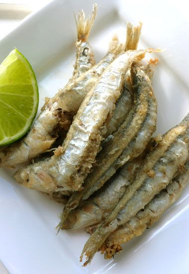 Deep fried anchovies. | FISH RECIPES | Pinterest