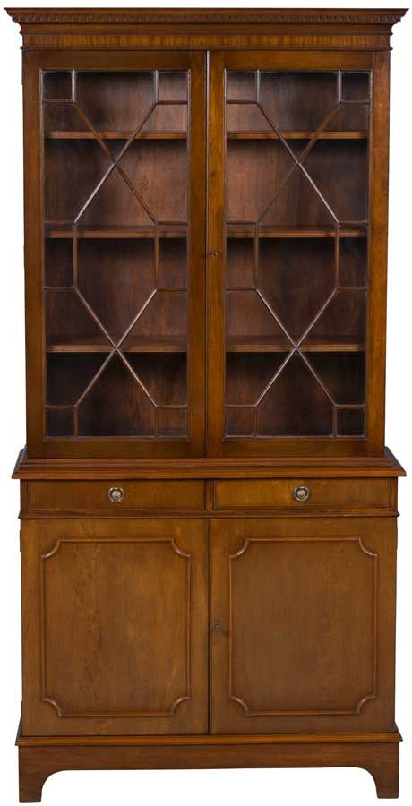 Antique Bookcase in Flame Mahogany - 873 Best Awesome Antiques Images On Pinterest Display Cabinets