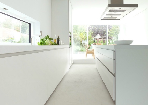 Siematic keuken 2013  keukenblad wit