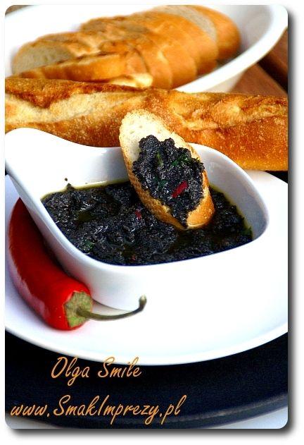 Pasta z oliwek - tapenada