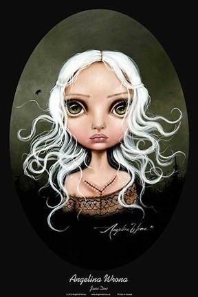 Jane Doe Poster Print by Angelina Wrona Fantasy Art Magical Modern Dark