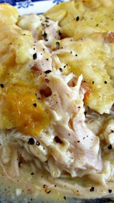 Chicken and Dumpling Casserole Recipe ~ quick, simple and delicious