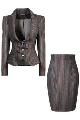 Vivienne Westwood Suit - it should come with trousers. Love this jacket