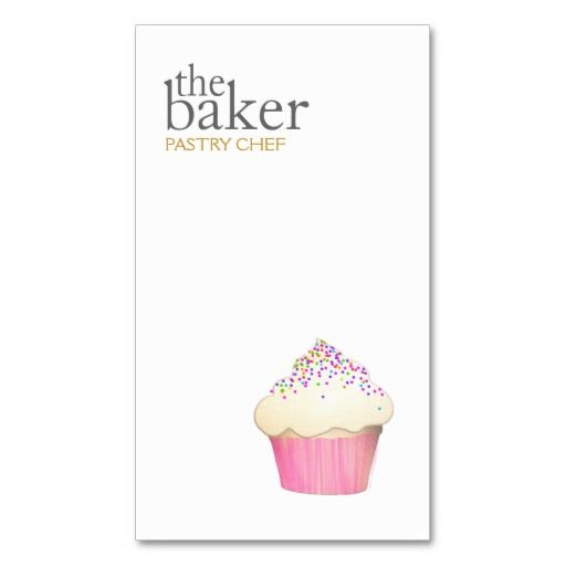 46 best bakery and pastry chef business cards images on pinterest cupcake catering pastry chef baking business card reheart Images