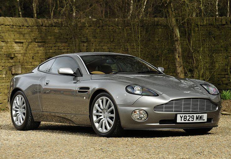 2001 Aston Martin V12 Vanquish $500,000