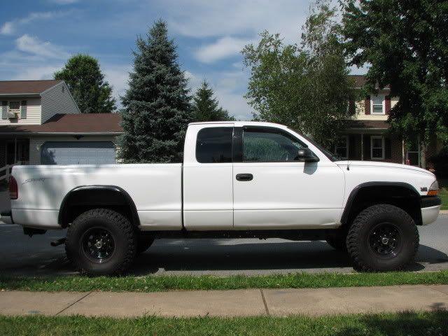lifted dodge dakota truck  inch body lift  Dodge Durango Forum