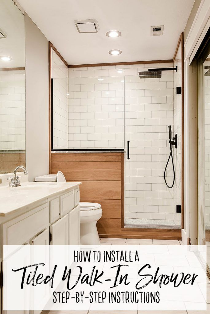 How To Install A Tiled Walk In Shower Tub To Shower Conversion