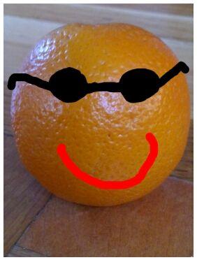 Orange fun