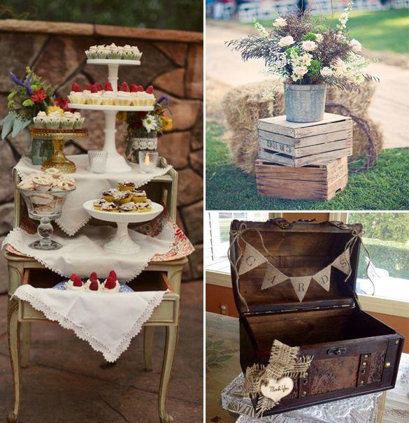 Rustic Furniture Vintage Traditional Wedding Wedding Furniture
