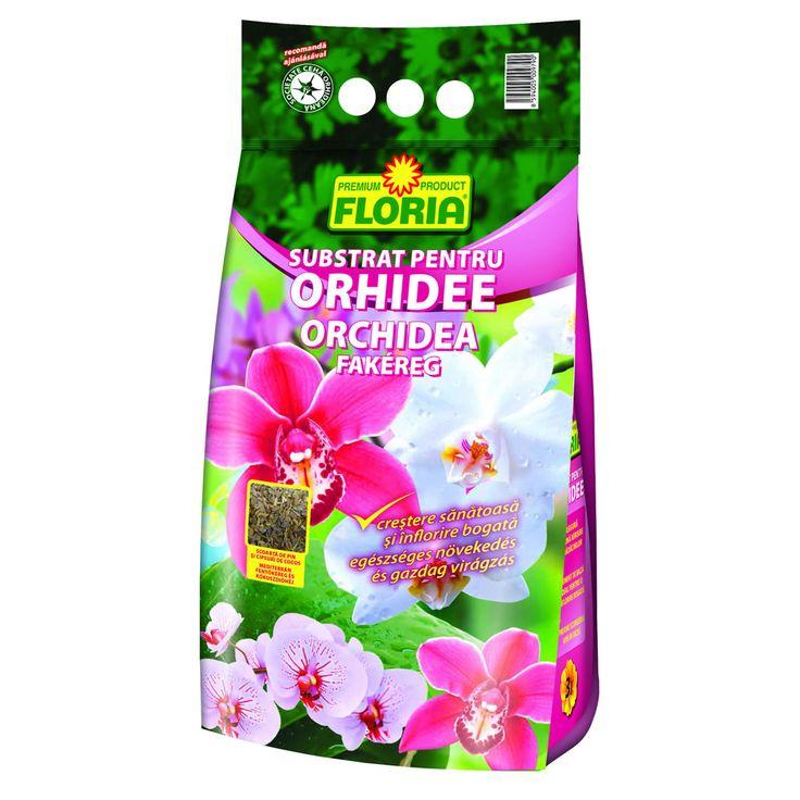 Substrat pentru orhidee, 3 litri