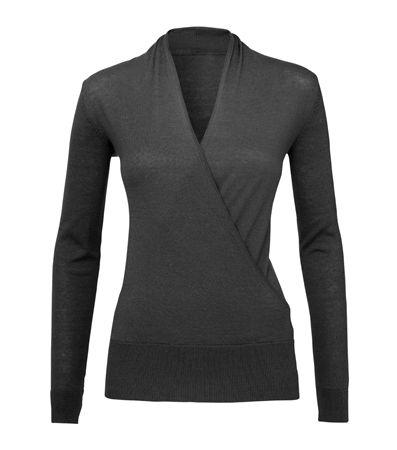 Hema trui, zwart of koraal