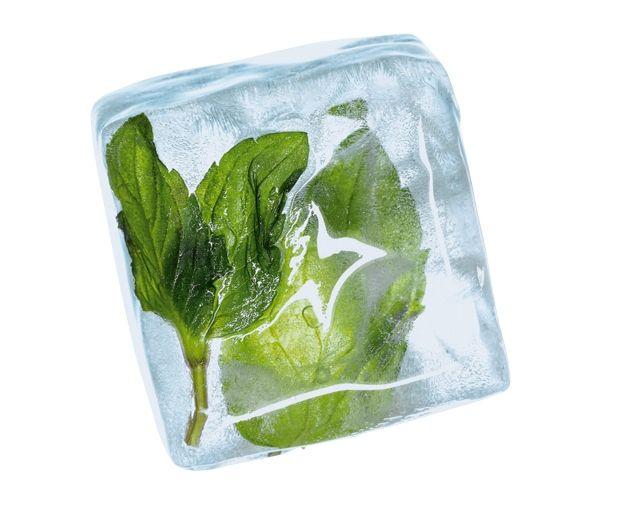 Funktioniert mit und ohne Alkohol: Wer schon die Eiswürfel mit Aroma versieht, kann sich den Cocktail sparen.