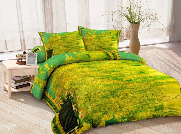 16 best images about Map Bedding Sets on Pinterest Green
