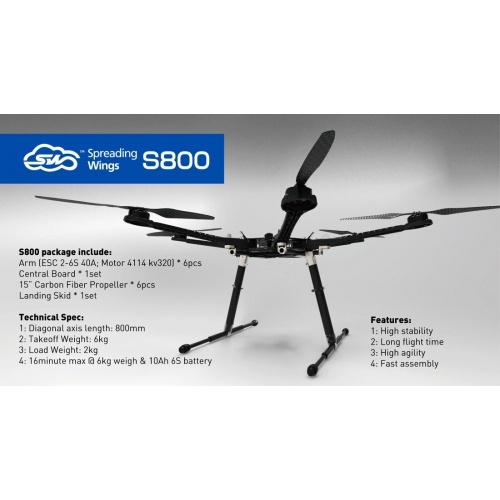 DJI Spreading Wings S800 Kit