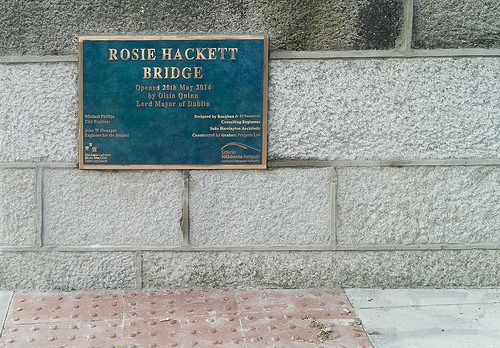 ROSIE HACKETT BRIDGE OPENED TO THE PUBLIC TODAY [By Infomatique]