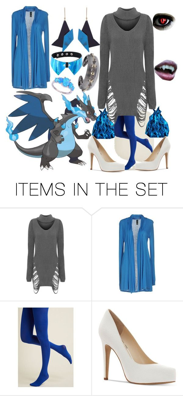 """""""Spooky Scary Pokemon:Charizard"""" by fandom-girl365790 ❤ liked on Polyvore featuring art"""