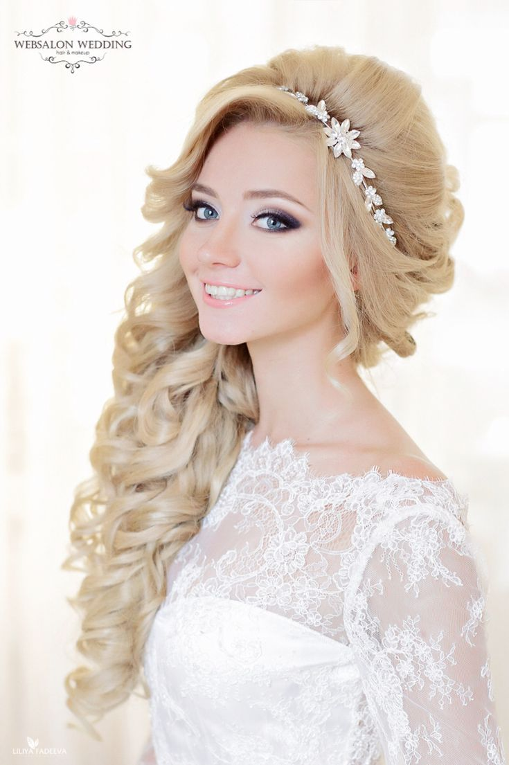 11 best gelin saçı images on Pinterest | Haircut styles, Bridal ...