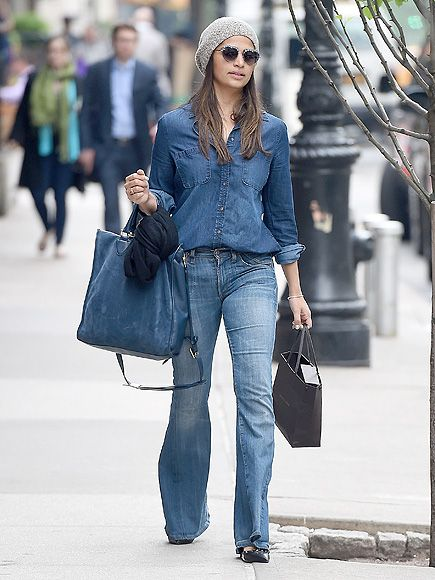 Star Tracks: Monday, May 16, 2016 | OUT & ABOUT | Camila Alves sports a denim shirt and jeans while in N.Y.C. on Friday.