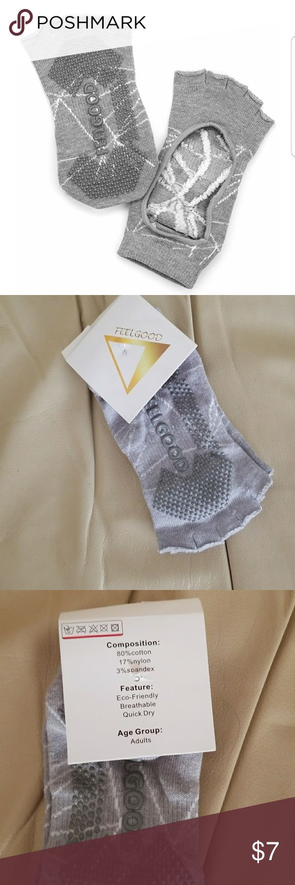 Feel good Yoga / Pilates Socks Feel good Yoga / Pilates Socks New Are you in search of this? Is this your ISO? No trades or returns Feel Good Accessories Hosiery & Socks