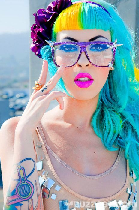 colorfulCrazy Hair, Hair Colors, Raquel Reed, Aqua Blue, Blue Hair, Hair Dryer, Colors Blue, Colors Fashion, Colors Hair