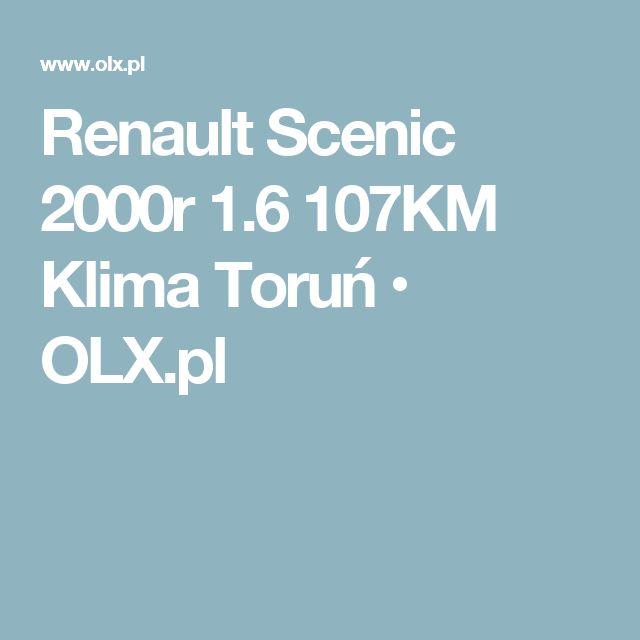 Renault Scenic 2000r 1.6 107KM Klima Toruń • OLX.pl