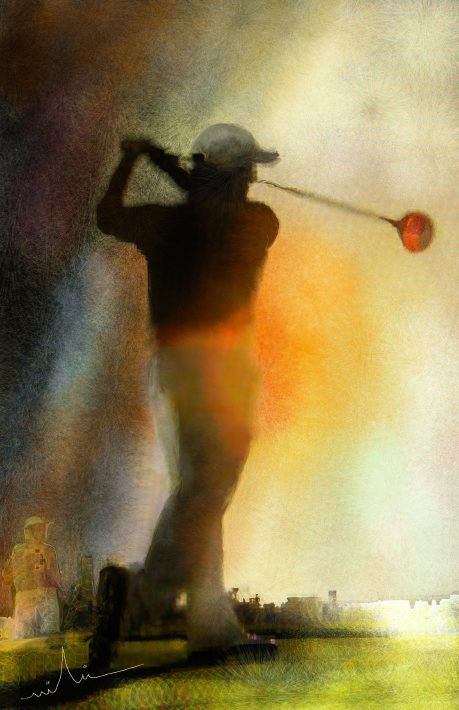 Golf Paintings Infinity Some 2 Golf Pinterest Golf Golf