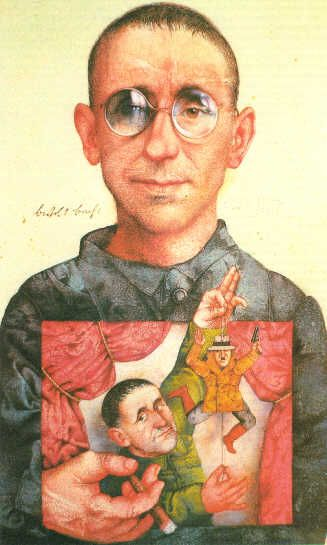 "Bertolt Brecht was able to use realism in his work of the ""The Good Woman of Setzuan"" to express his own political views and his rationale in the flaws that society has. His work sends a message to his audience on how it is impossible to change human nature, so the only other option is change the society we live in."