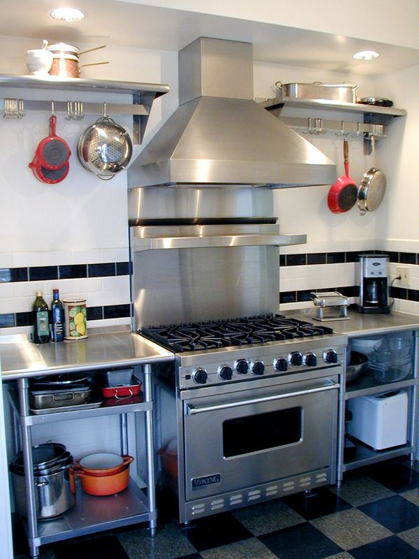 Thinking of doing a commercial style kitchen for my renovation.