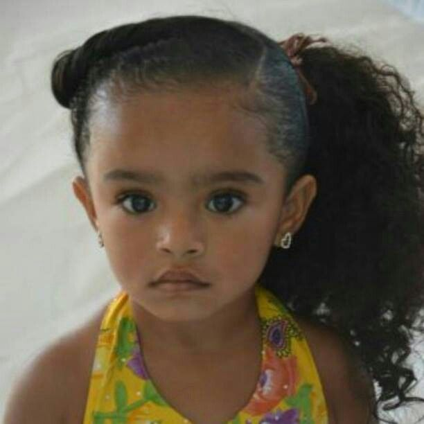 Superb 1000 Ideas About Mixed Girl Hairstyles On Pinterest Mixed Girls Short Hairstyles For Black Women Fulllsitofus