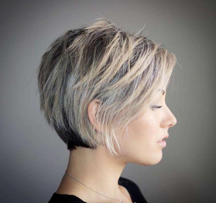Kurze Frisuren Frauen Kurze Frisur Ideen Frisur Haarschnitte Kurzhaarschnitte Kurzhaarschnitt Trend Bob Frisur Haarschnitt Bob