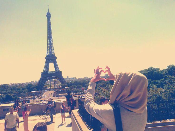 Feeling proud of my hijab <3 on We Heart It