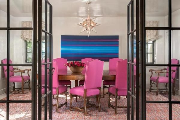 Best 20 Pink Dining Rooms ideas on Pinterest