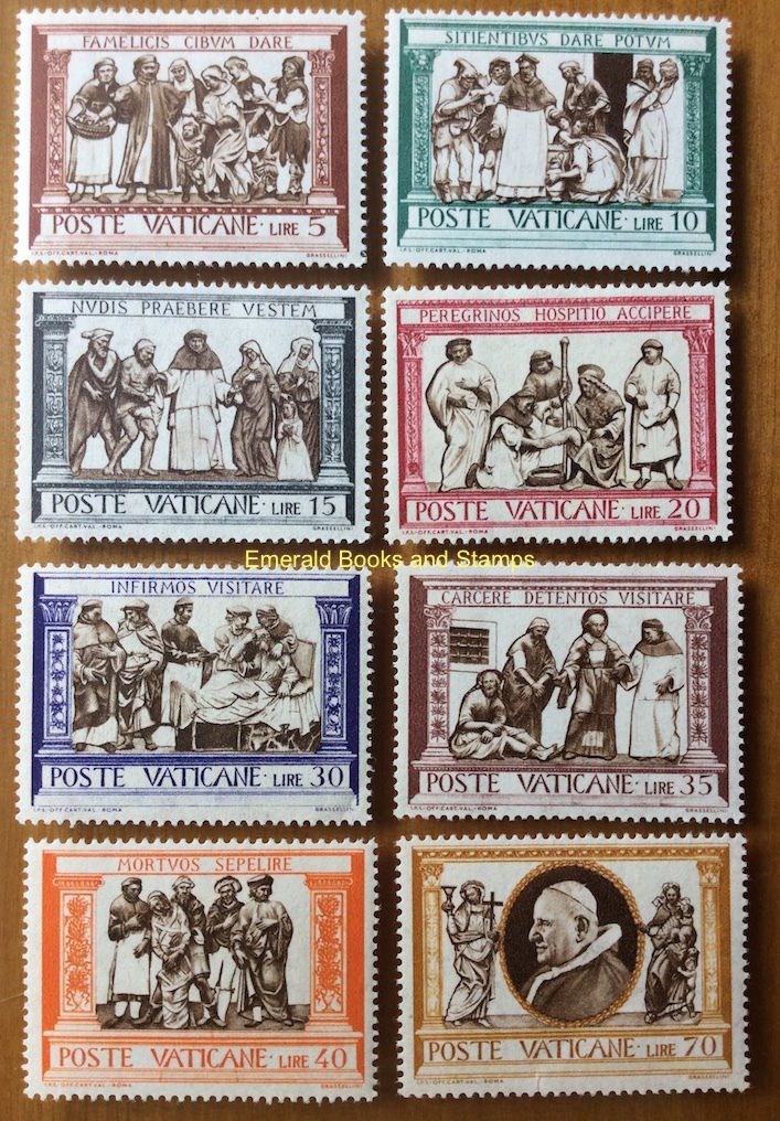 102 Best Vatican City Stamps Images On Pinterest