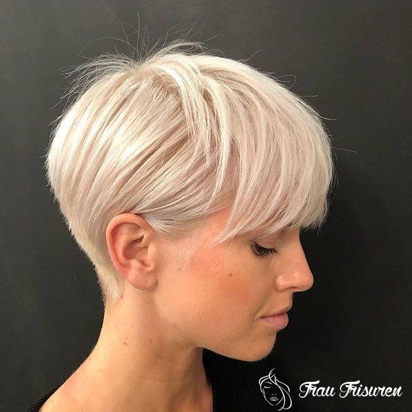 30 Neue Kurze Blonde Frisuren 2019 Kurze Blonde Frisuren Haarschnitt Kurz Haarschnitt