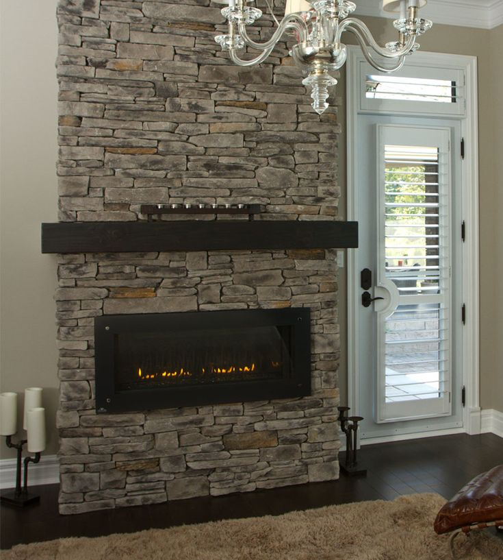 17 Best images about stone on Pinterest : Stone fireplaces ...