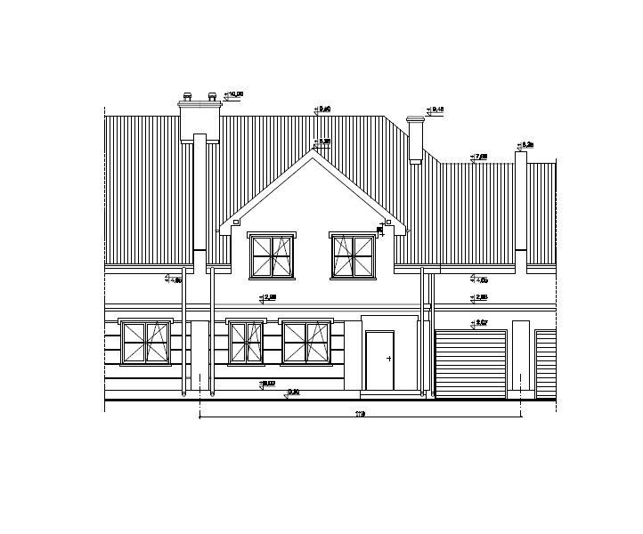 Projekt domu jednorodzinnego MAKI82HP