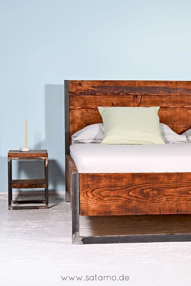 Entdecke Moderne Betten Im Industrielook! Bett Industriedesign, Bett  Industrial Style, Bett Industrial Design