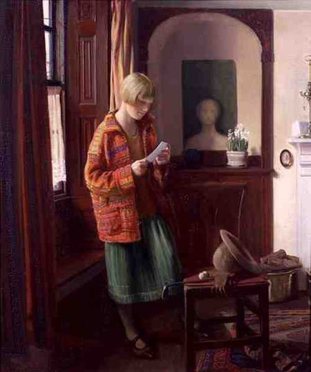 The coat of many colours, 1926 - Louis Ginnett (British, 1875-1946)