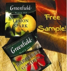 Free Sample of Greenfield Tea