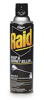 Keep wasp spray nearby. More effective than pepper spray and if you don't want to use a gun.